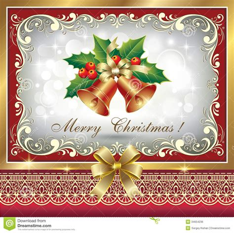 christmas greeting card royalty free stock image image