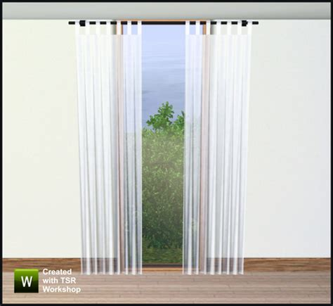 sims 3 curtains gosik s orinoko curtains 2x1