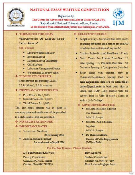 Essay Writing Contest Mechanics by For Essay Writing Competition Docoments Ojazlink