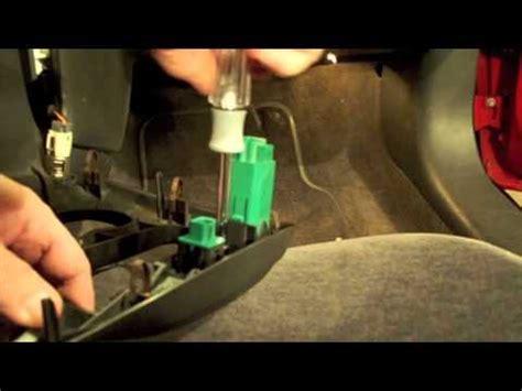 pontiac grand  turn signal fix repair youtube