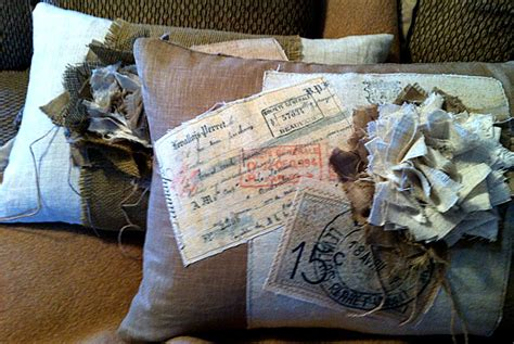 shabby french pillow tutorial the graphics fairy