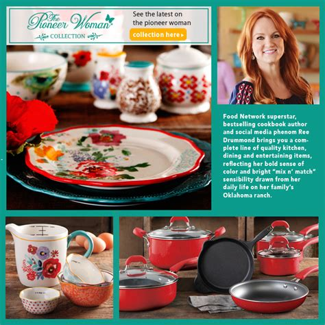 pioneer woman ree drummond juggles new cookbook cookware show new pioneer woman cookware line newhairstylesformen2014 com