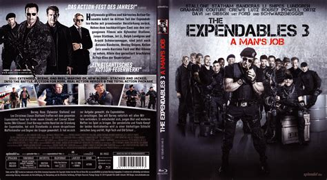 Cover A by The Expendables 3 A Mans Cover German German