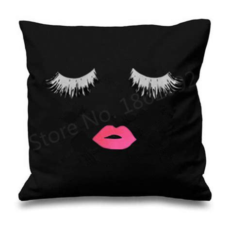 Home Design And Decor Wish App by Funny Eyelash Cushions Covers Decorative Eyelash Lip Throw