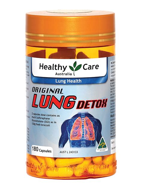 Lung Detox Side Effects by Vi 234 N Uống Giải độc Phổi Healthy Care Original Lung Detox