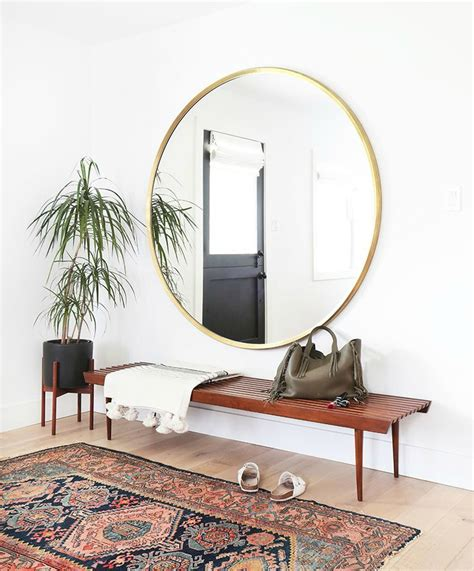 entryway mirror 10 tips for creating an entryway in an entryway less home