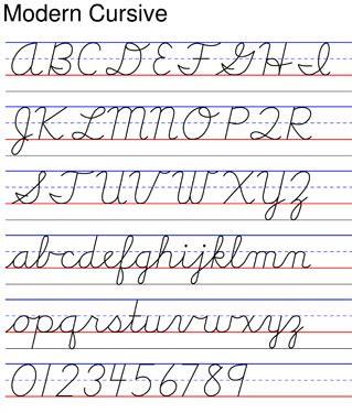 alphabet worksheets victorian modern cursive modern cursive art hand lettering pinterest cursive