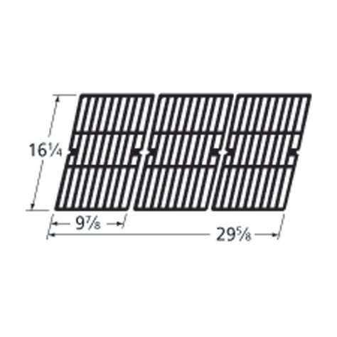 Backyard Grill Grill Parts Heavy Duty Bbq Parts 61593 Gloss Cast Iron Cooking Grid