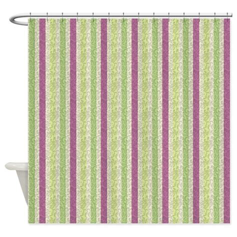 curtains purple and green green and purple stripes shower curtain by cheriverymery