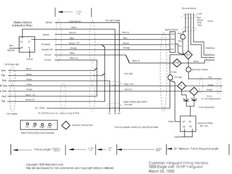cushman eagle engine wiring diagram wiring diagram with