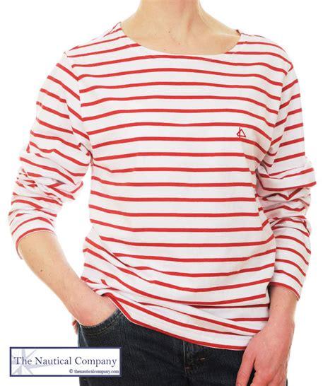 Claires Stiped T Shirt sailor white striped breton top t shirt 8 10 12 14 16 18 22 24 ebay