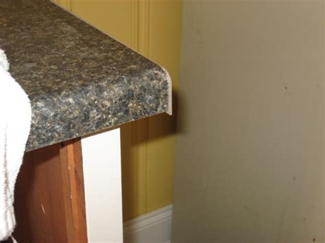 Post Formed Countertop by Installing A Self Sink In A Postform Laminate