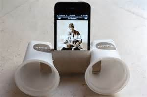 Home Design Ideas Do It Yourself diy smartphone speakers wildfire creative