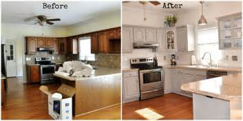 my kitchen makeover before and after models picture