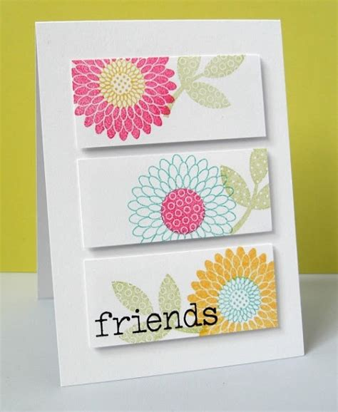 Simple Handmade Birthday Cards For Friends - 32 handmade birthday card ideas and images