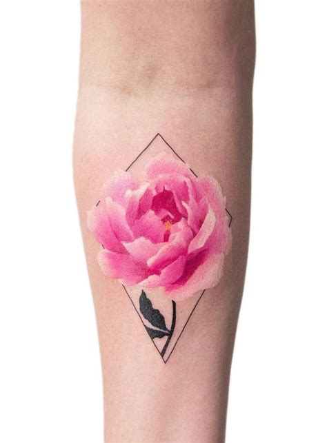 rose blossom tattoo best 25 small colorful tattoos ideas on