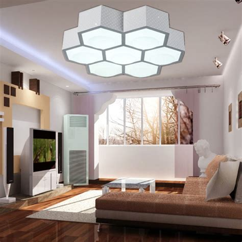 Modern Ceiling Lights Living Room 3 7 9 Heads Modern Ceiling Lights Beehive Led Ceiling Light Living Room Remote Light