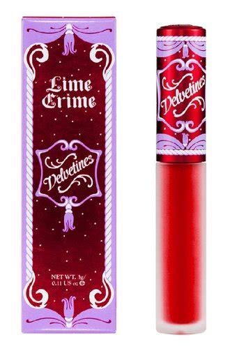Velvet Lip Liner Pen By Mn Murah lime crime velvetines lip gloss velvet rich velvety