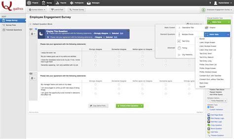themes qualtrics employee engagement survey software qualtrics