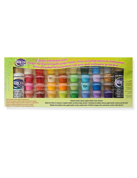 decoart americana acrylic paint value pack misterart