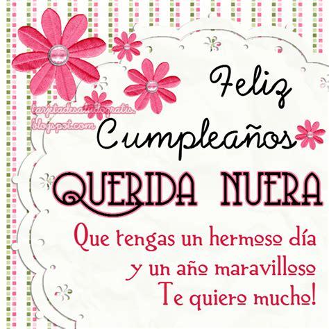Imagenes Cumpleaños Nuera | tartetas de cumplea 241 os personalizadas para amiga nuera