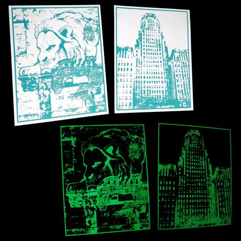 glow in the dark posters glow in the dark 8x10 city prints 183 vintango 183 online