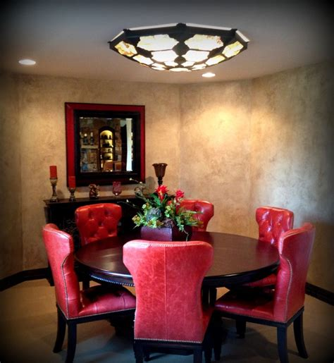 Flush Mount Dining Room Light Flush Mount And Semi Flush Mount Lighting Traditional Dining Room Wichita By Accent
