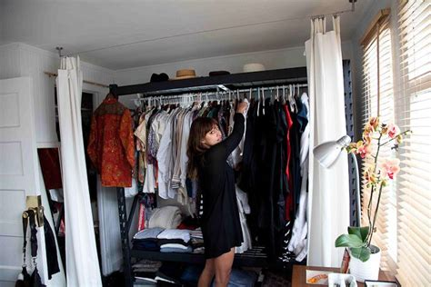 Makeshift Closet by Makeshift Closet For Small Spaces