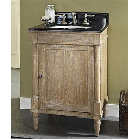 rustic chic bathroom vanity fairmont designs rustic chic 24 quot vanity weathered oak