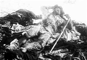 Massacre at wounded knee