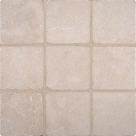 Tumbled Marble Tile Crema Marfil 4x4 Tumbled Tile Colonial Marble Granite