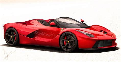 L Ferrari Price by Ferrari Laferrari Spider Rendering Seems Spot On