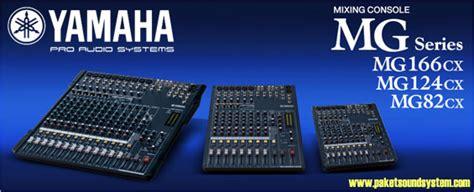 Daftar Mixer Sound Yamaha audio mixer yamaha seri mg model cx paket sound system profesional indonesia