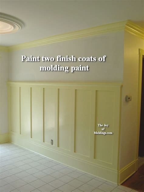 How To Paint Wainscoting 5 Wainscoting 100 Tall How To Paint The Of Moldings