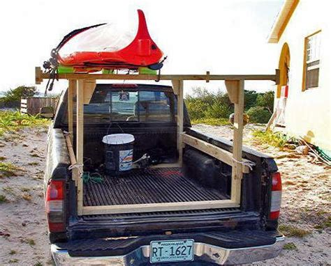 Diy Ladder Rack Truck by How To Build A Wood Rack For Truck Woodworking Projects