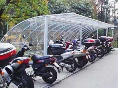 tettoia biciclette pensiline per biciclette e moto tettoie per moto