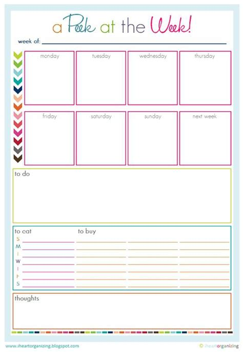 printable planner stuff 20 printables to organize your home life spaceships and