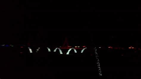 2011 smokies stadium shadrack christmas light show youtube