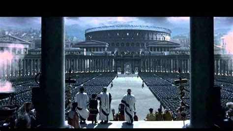 film gladiator rome gladiator soundtrack quot the might of rome quot youtube
