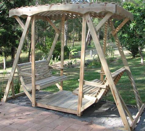 lawn swings wooden 1000 ideas about lawn swing on pinterest porch glider