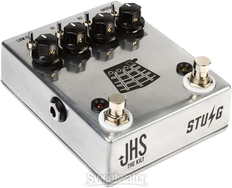 jhs the kilt overdrive boost pedal jhs the kilt overdrive boost sweetwater