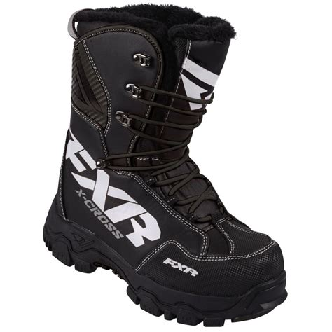 2017 fxr mens womens x cross snowmobile winter boots