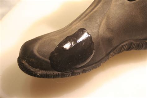 don t throw away those rubber boots muscle and arm - Rubber Boot Patch