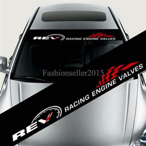 Volkswagen Motorsport Aufkleber Frontscheibe by Reflective Rev Car Styling Front Windshield Banner Decal