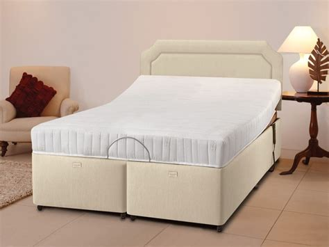 beds with ease bodyease electro memory ease electric adjustable double bed