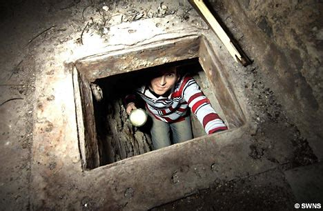 pub with tunnels underneath available builders unearth 200 year old smuggling network in cornish