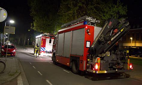 woonboot conradkade den haag 20 april lek in woonboot zorgt voor brandweerinzet