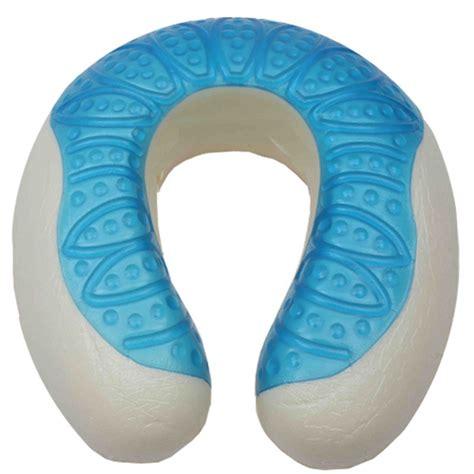 Cool Gel Neck Pillow cool gel memory foam neck pillow