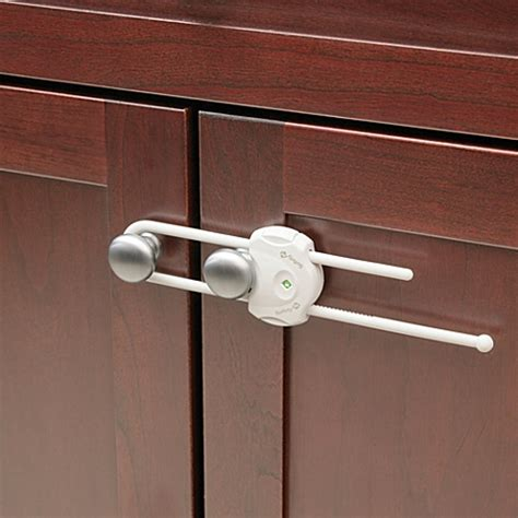 child proof locks for kitchen cabinets buy safety 1st 174 securetech cabinet lock from bed bath