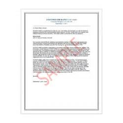 Housing Certification Letter emotional support animal therapist letter for airlines